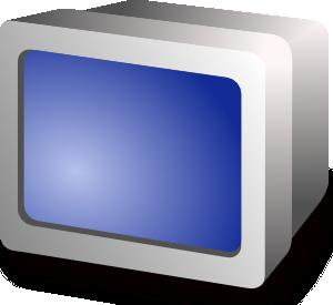 free vector Crt Display clip art