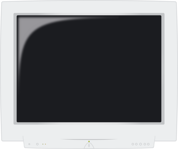 free vector Crt Monitor clip art