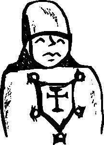 free vector Crusader clip art