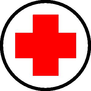 free vector Cruz Roja clip art
