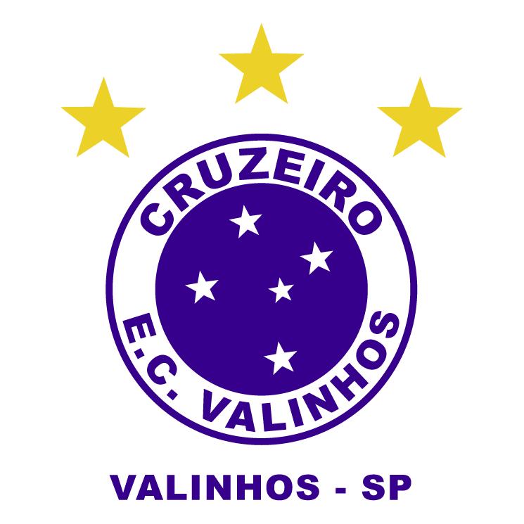 free vector Cruzeiro ec valinhos