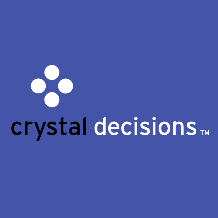 free vector Crystal decisions