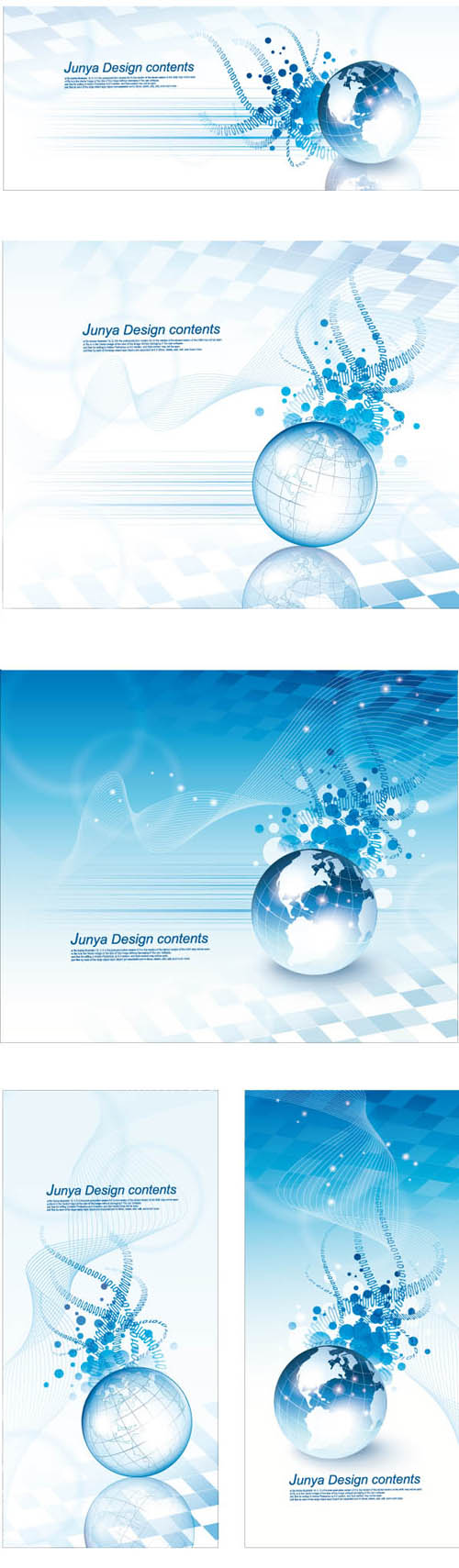 free vector Crystal earth and cable music vector