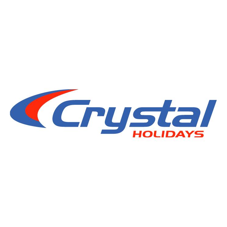 free vector Crystal holidays