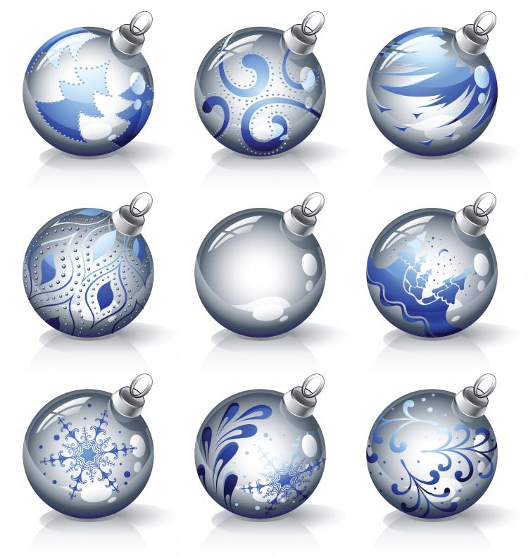free vector Crystal texture of the christmas ball vector