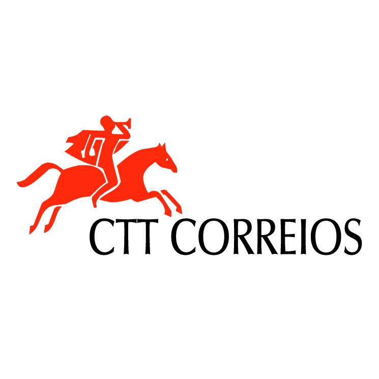 free vector Ctt correios de portugal