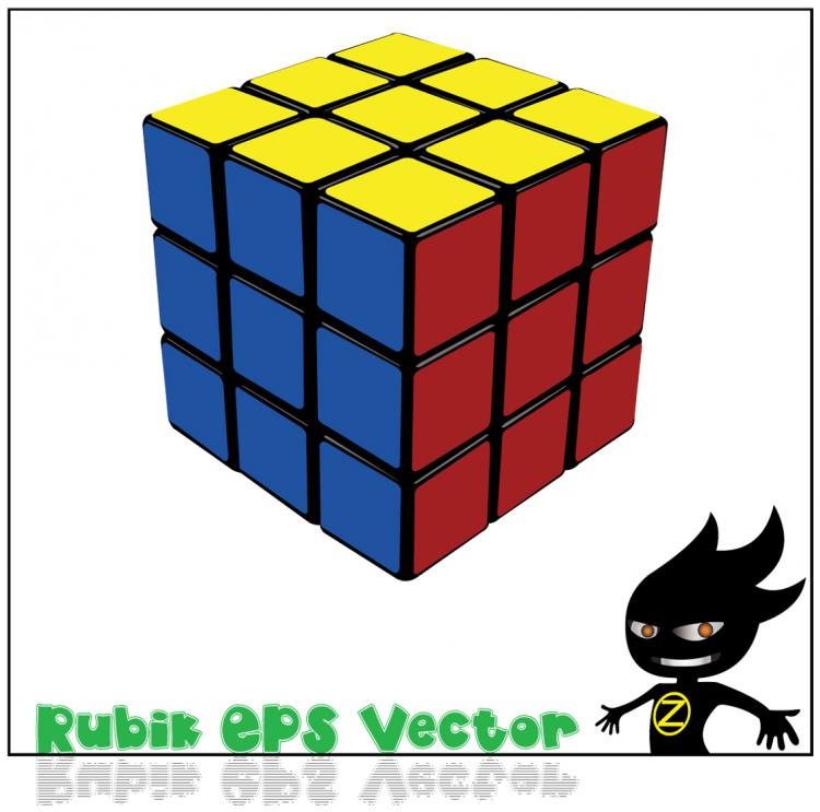 free vector Cube vector