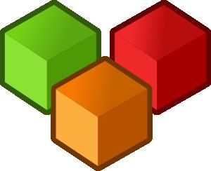 free vector Cubes clip art
