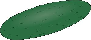 free vector Cucumber  clip art