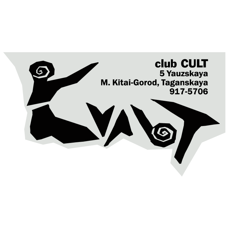 free vector Cult club