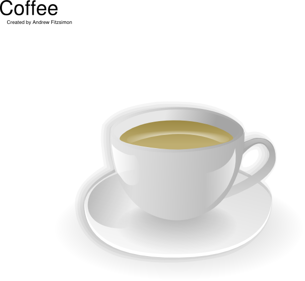 free vector Cup Of Coffee clip art 117570