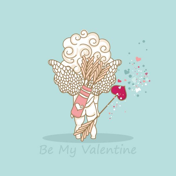 free vector ++Cupid Vector Material++ Venus Cupid Love