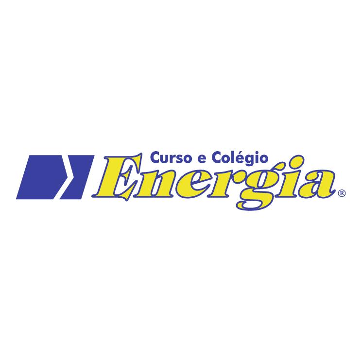 free vector Curso e colegio energia