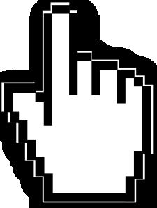 free vector Cursor Hand  clip art
