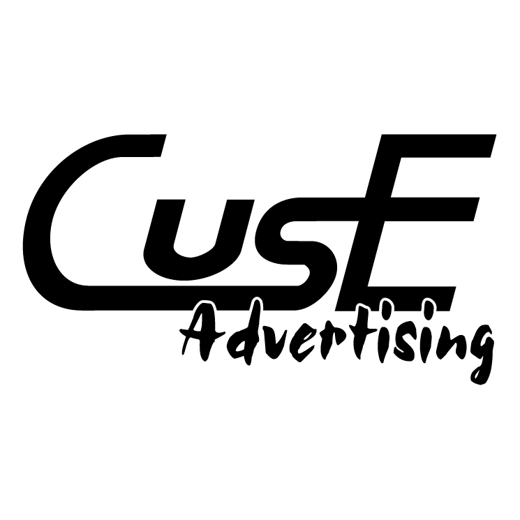 free vector Cuse advertising