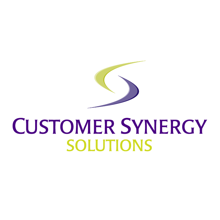 free vector Customer synergy solutions
