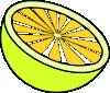 free vector Cut Lemon clip art
