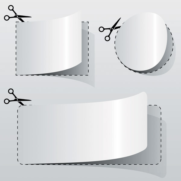free vector Cut vector 4