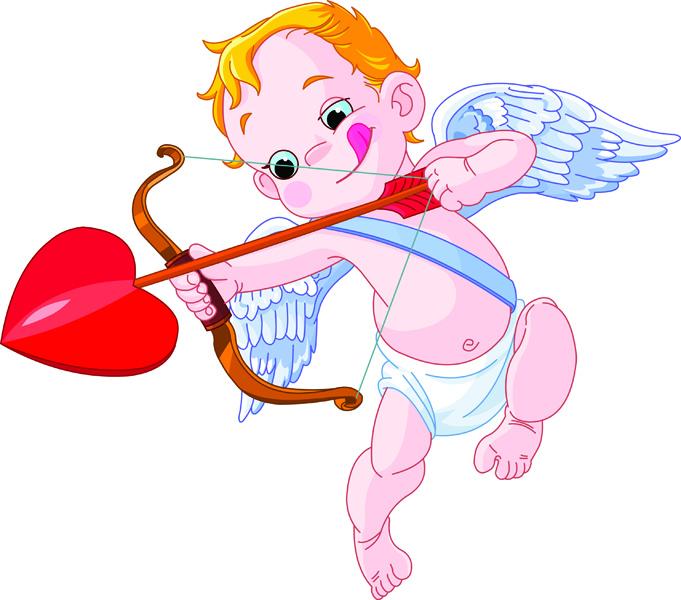 free vector Cute angel vector