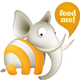 free vector Cute animal theme subscribe to rss icon vector material
