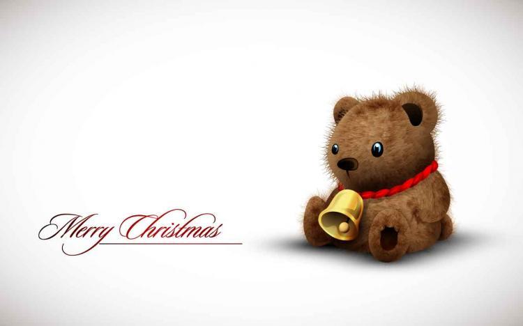 free vector Cute bear toy vector