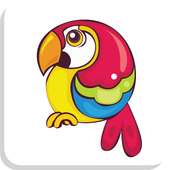 free vector Cute birds vector