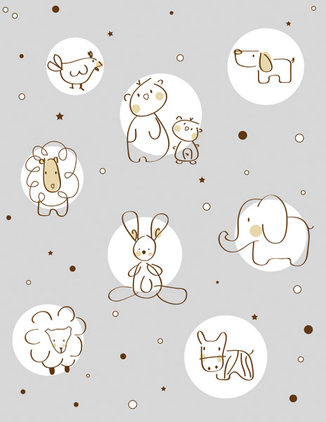 free vector Cute cartoon clip art