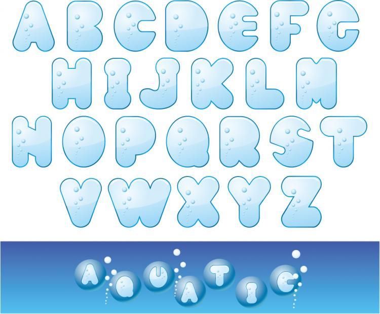 Cute Letters Alphabet Cute letters of the alphabet