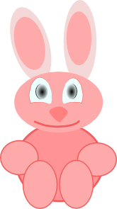 free vector Cute Rabbit clip art
