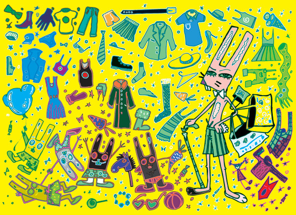 free vector Cute trend vector goods of life