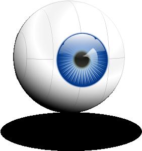 free vector Cyber Eye clip art