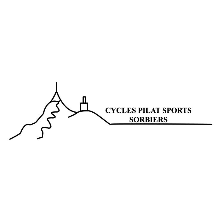 free vector Cycle pilat sport sorbiers