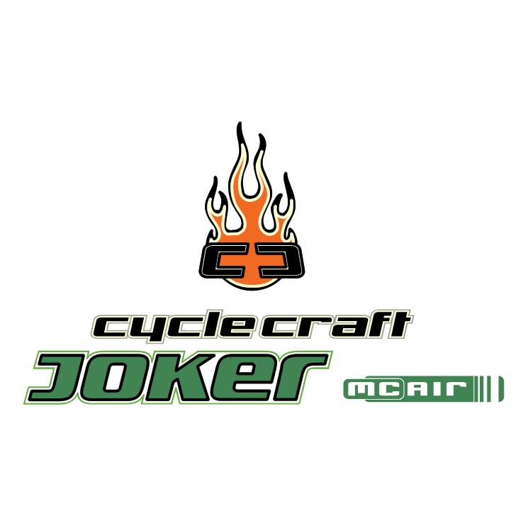 free vector Cyclecraft joker