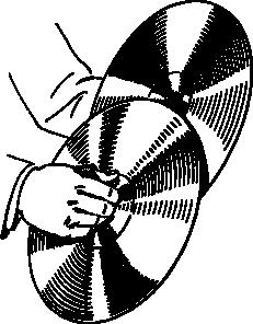 free vector Cymbals clip art