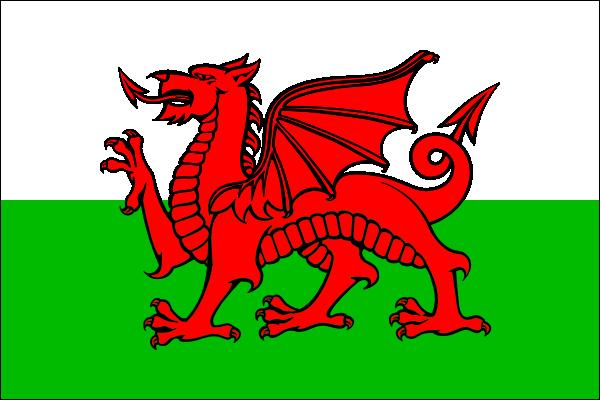 free vector Cymru Flag (wales) clip art