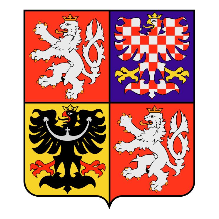 free vector Czech republic national emblem 0