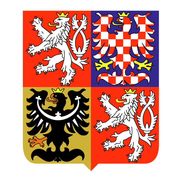 free vector Czech republic national emblem