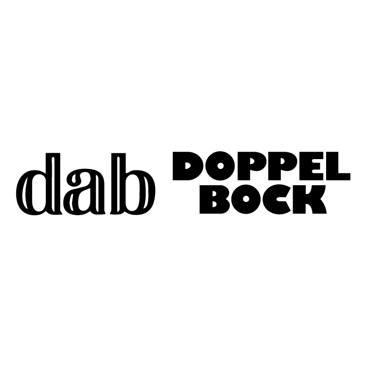 free vector Dab doppel bock
