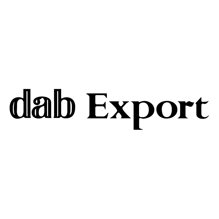 free vector Dab export