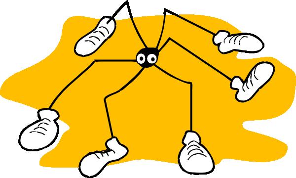 free vector Daddy Long Legs clip art