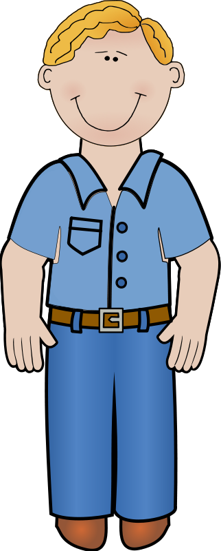 free vector Daddy standing 01