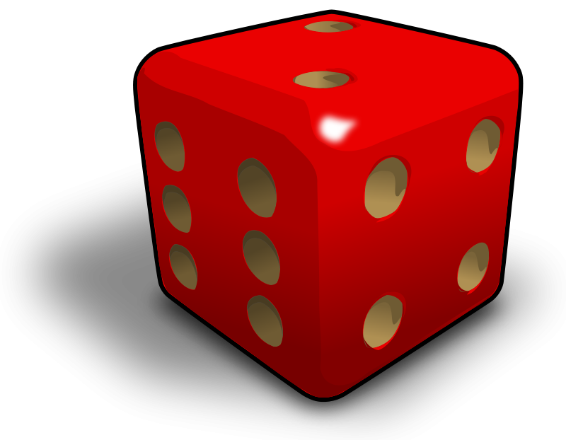 free vector Dado - dice 2
