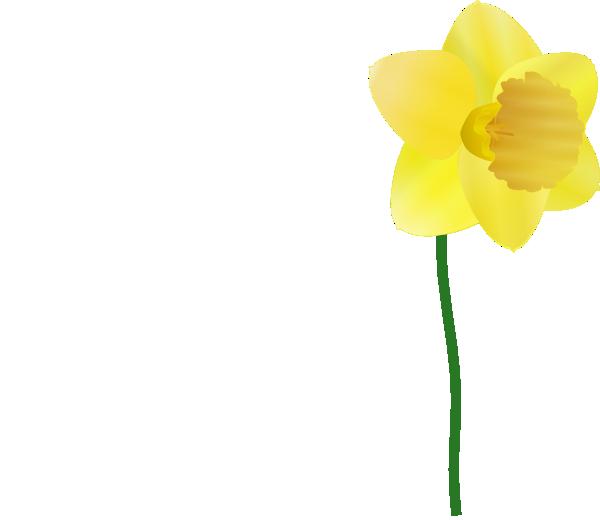 daffodil clip art free vector 4vector rh 4vector com daffodil flower clipart daffodil flower clipart
