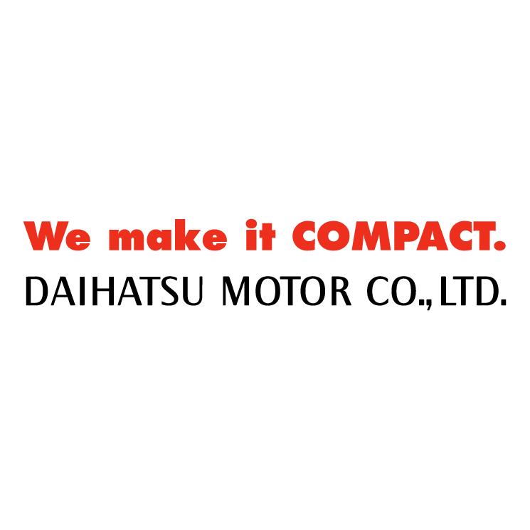 free vector Daihatsu motor