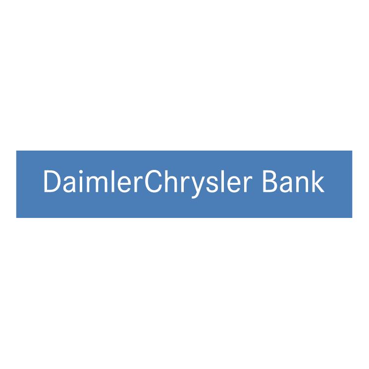 free vector Daimlerchrysler bank