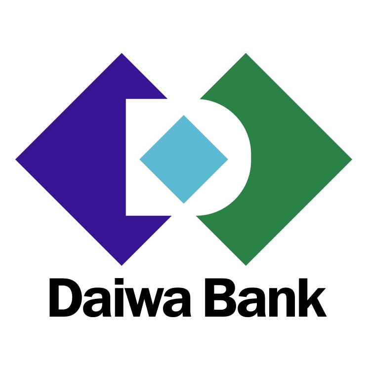 free vector Daiwa bank