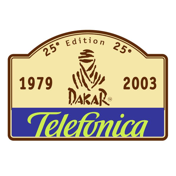 free vector Dakar rally 2003