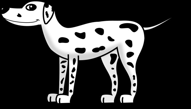 free vector Dalmatian
