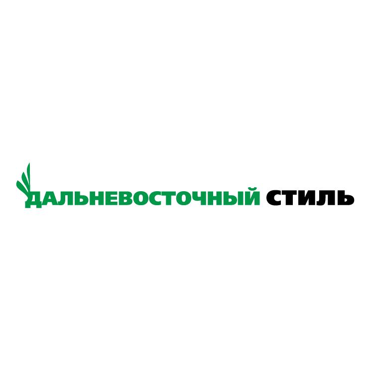 free vector Dalnevostochnij stil