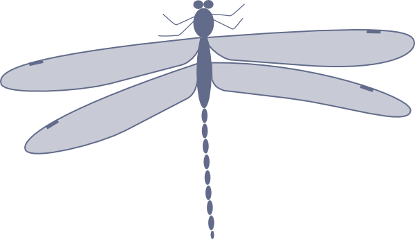 free vector Damselfly clip art